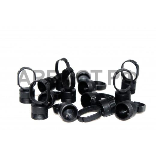 Кольца черные