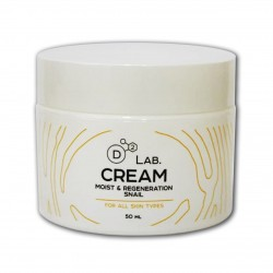 Крем для лица D2 Lab Cream Moist & Regeneration Snail 50мл
